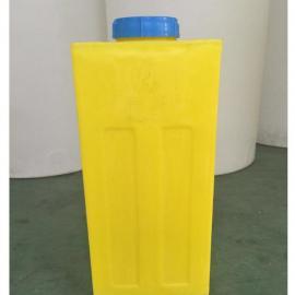 加药箱厂家 80l方形加药箱PE搅拌桶 净水机专用80L塑料水箱