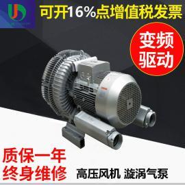 三相415V印度电压20KW双段式高压鼓风机