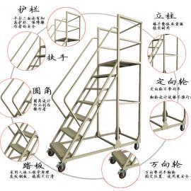仓库7步登高理货平台梯