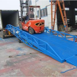 南城移动式液压登车桥 南城叉车装卸货移动液压升降平台