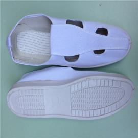 无尘防静电帆布四眼鞋 防静电帆布四眼鞋价格