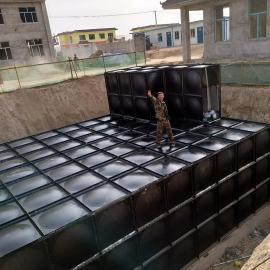 腾瑞达480吨地埋BDF水箱12*10*3
