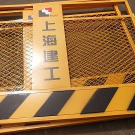 莱邦黄色基坑安全围栏 基坑围栏网 黄色铁丝护栏网厂家直销