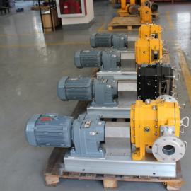 秦平QP120M 4寸铸铁高粘度凸轮泵转子泵PUMP