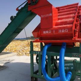 带皮和不带皮的同时进行的大型玉米脱粒机现货秒杀