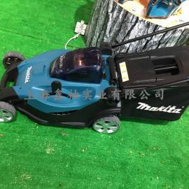牧田makita锂电池割草机园林草坪修剪机36V充电式手推草坪机