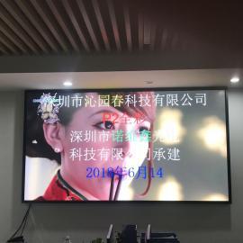 企业办公大厅LED超清电视无缝拼接屏安装购买厂家
