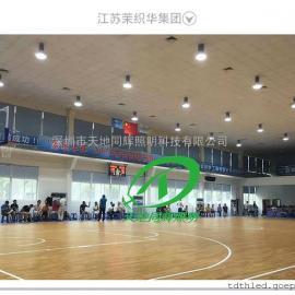 学校室内汽排球场馆灯光布置排球场馆LED防眩照明灯