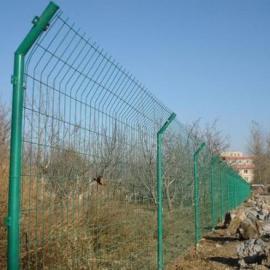 供应莱邦框架铁丝护栏网 墨绿色铁路防护框架护栏网 护栏网
