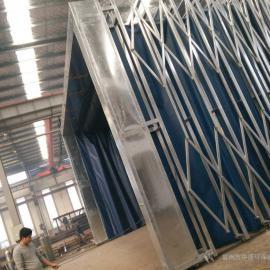 移动伸缩喷漆房制作厂家 设计制作安装废气处理