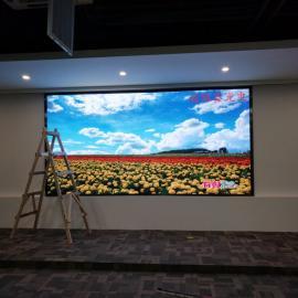 粤菜饭店安装高清晰LED彩色大屏幕婚庆大电视应用