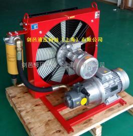 剑邑ELDL-A系列独立循环型液压风冷却器_液压散热器_液压风冷机
