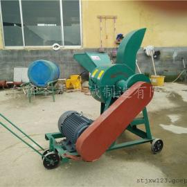 中小型秸秆揉丝机生产厂家 圣泰花生秧揉丝机报价