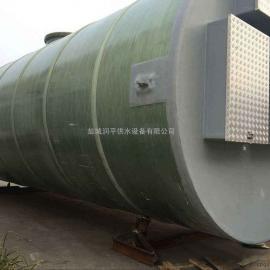 龙井污水提升泵站厂家 全自动化智能地埋式污水提升泵站GRP雨水
