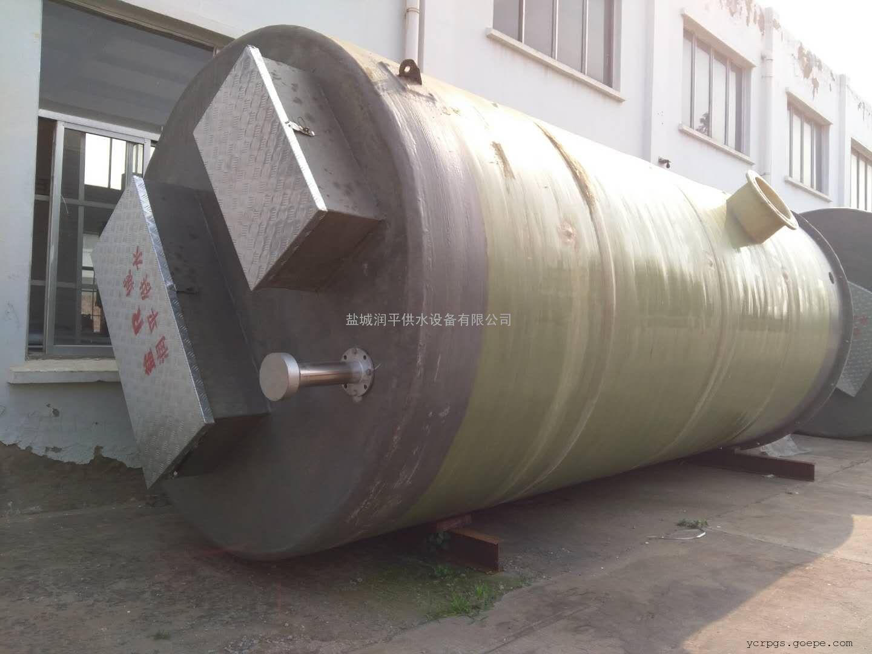 四 平污水提升泵站厂家 一体化污水提升泵站 地埋预制一体化泵站