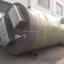 七|台河污水提升泵站厂家 玻璃钢污水预制地埋智能污水泵站