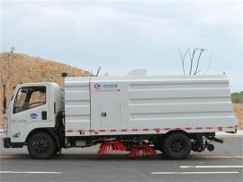 道路清扫车5吨扫地车咨询