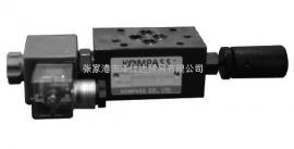 原装KOMPASS康百世MSW-03-X/Y叠加式单向节流阀现货
