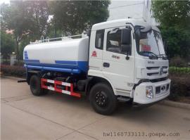 东风新款12立方拉水车-12吨热水车-12吨抗旱应急运水车生产厂家