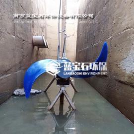 2.2kw潜水低速推流器QDT2.2/1400聚氨酯叶轮