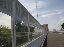 兴品高速公路声屏障金属百叶孔隔音板