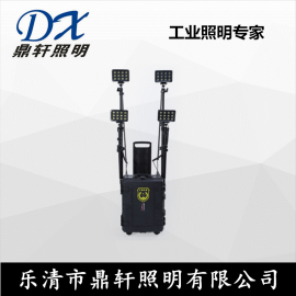 XLM-6610强光升降抢险箱灯4*36W应急灯