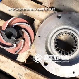 潜水铰刀泵合金刀头 切割泵撕裂泵叶轮