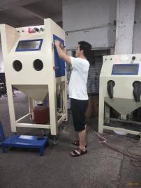 订做箱式喷砂机环保喷砂机/五金塑胶处理喷砂机手动/喷砂机