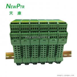 SWP-8034-4模拟一进四出NEWPTR天康信号隔离器