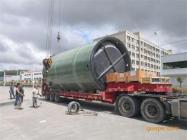 一体化预制泵站|玻璃钢材质|上海弘泱厂家批发|定制|直销