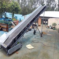 六九重工化肥装卸车用电动升降花纹皮带机 高低可调圆管输送机Lj8