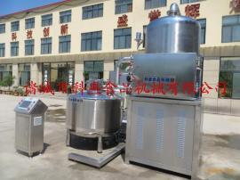 香脆土豆条生产加工流水线-土豆条全自动真空油炸机