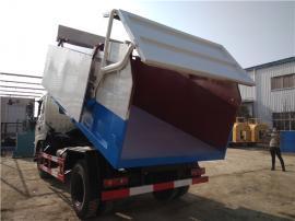 价格便宜全密闭10吨污泥运输车、10方10立方污泥自卸车