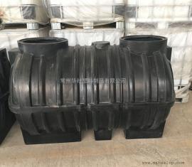 华社1.5立方滚塑一体化化粪池三格塑料桶兴农村改造沉淀槽1500L