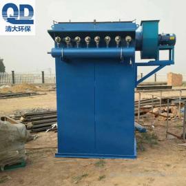 布袋锅炉除尘器单机布袋除尘器清大环保批发工作原理