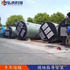 上海定制 玻璃钢一体化预制泵站 污水提升泵站 厂家批发直销