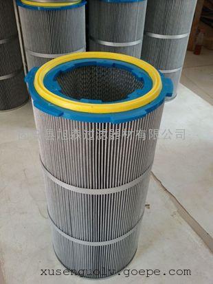涂装设备防静电快拆卡盘高效除尘滤芯/安装便捷防静电滤筒