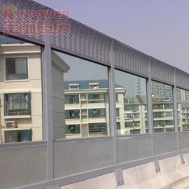 环保使用组合型透明隔音墙降低10db