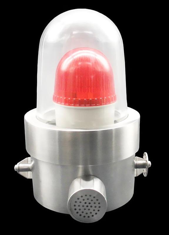 不锈钢316LL防爆声光报警器 110V/36V/24V可定制