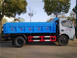 东风牌装载质量5吨污泥运输车价格
