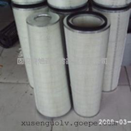 大小头锥形空气滤筒_燃气轮机空气粉尘处理滤芯设备配套滤筒