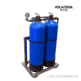工厂饭堂地下水抽上来发黄怎么办华兰净水设备可解决?#19978;?#22330;安装
