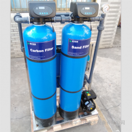 处理工地自建房井水发黄 专业净化井水山泉水设备找厂家华兰达