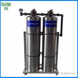 华兰达厂家长期承接别墅中央净水设备工程 井水净化过滤器