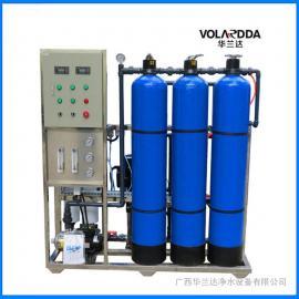 RO反渗透纯净水设备 净化食堂用水安全可靠 华兰达厂家直销