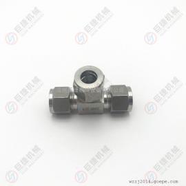 �F�供��卡套式三通 不�P�卡套式接�^ 4-16mm 卡套式接�^