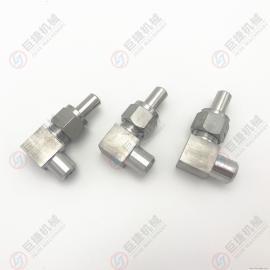 厂家直销304直角弯通接头 对焊直角管接头 不锈钢活动管接头
