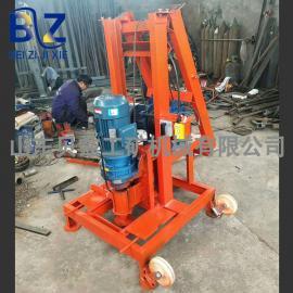 大口径反向循环水打井水井钻机 民用折叠式小型电动打井机多少钱