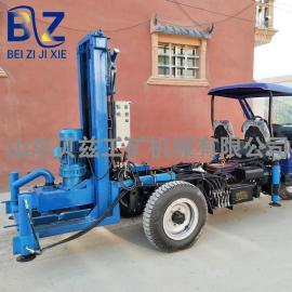 大口径水井钻机反循环打井速度快 厂家 民用折叠好运输的打井机