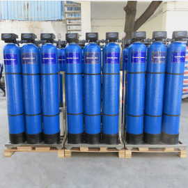家用型井水净化过滤设备 三级净水器除泥沙 异味 水垢效果好